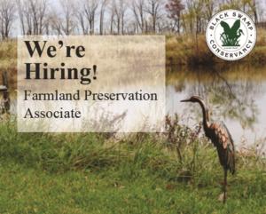 We're Hiring: Farmland Preservation Associate
